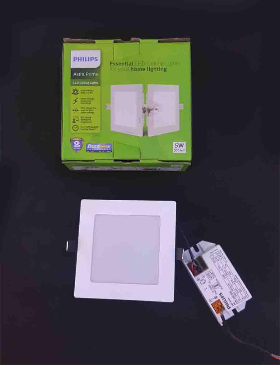 5w Astra Prime Philips Led Panel Light With A Great Deal In India