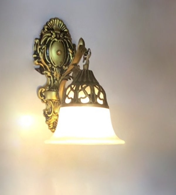 the latest fa3af 73a30 Wall Lights- Antique Wall Lamp