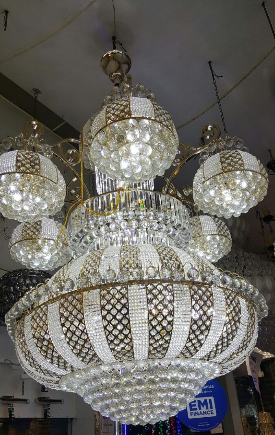 Large size chandelier